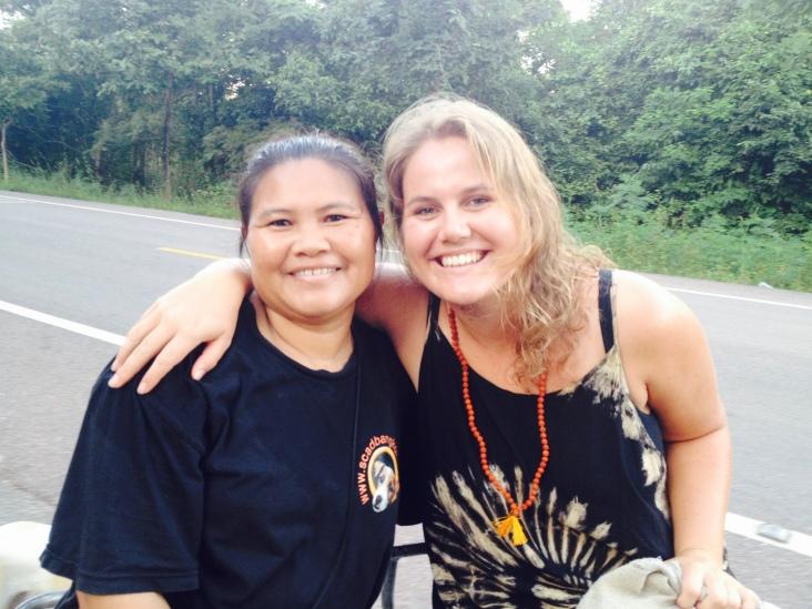 Chef Sura with Host Rosie
